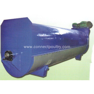 Rendering equipment of tube dryer